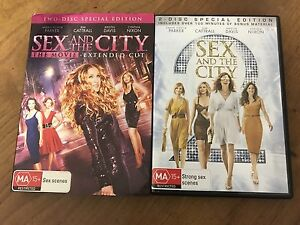 Sex in the City movies 1 & 2 DVDs Hilton Fremantle Area Preview