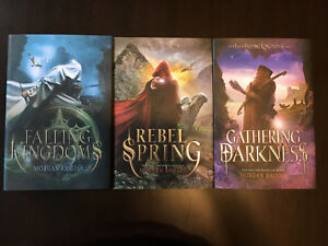 First three books in Falling Kingdoms series by Morgan Rhodes