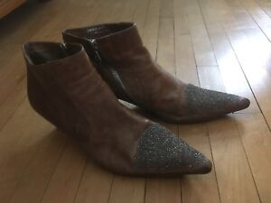 Woman's designer ankle boots