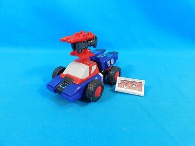 Vtg 1987 Crosshairs Targetmasters Transformers G1 Generation One Hasbro Complete