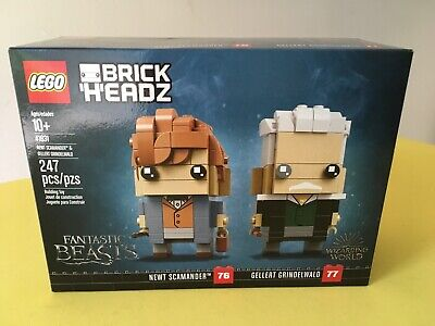 Lego BrickHeadz Fantastic Beasts Newt Scamander & Gellert Grindelwald 41631 New