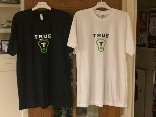 TRUE LACROSSE T-SHIRTS each, choose from colors shown (others available as well)