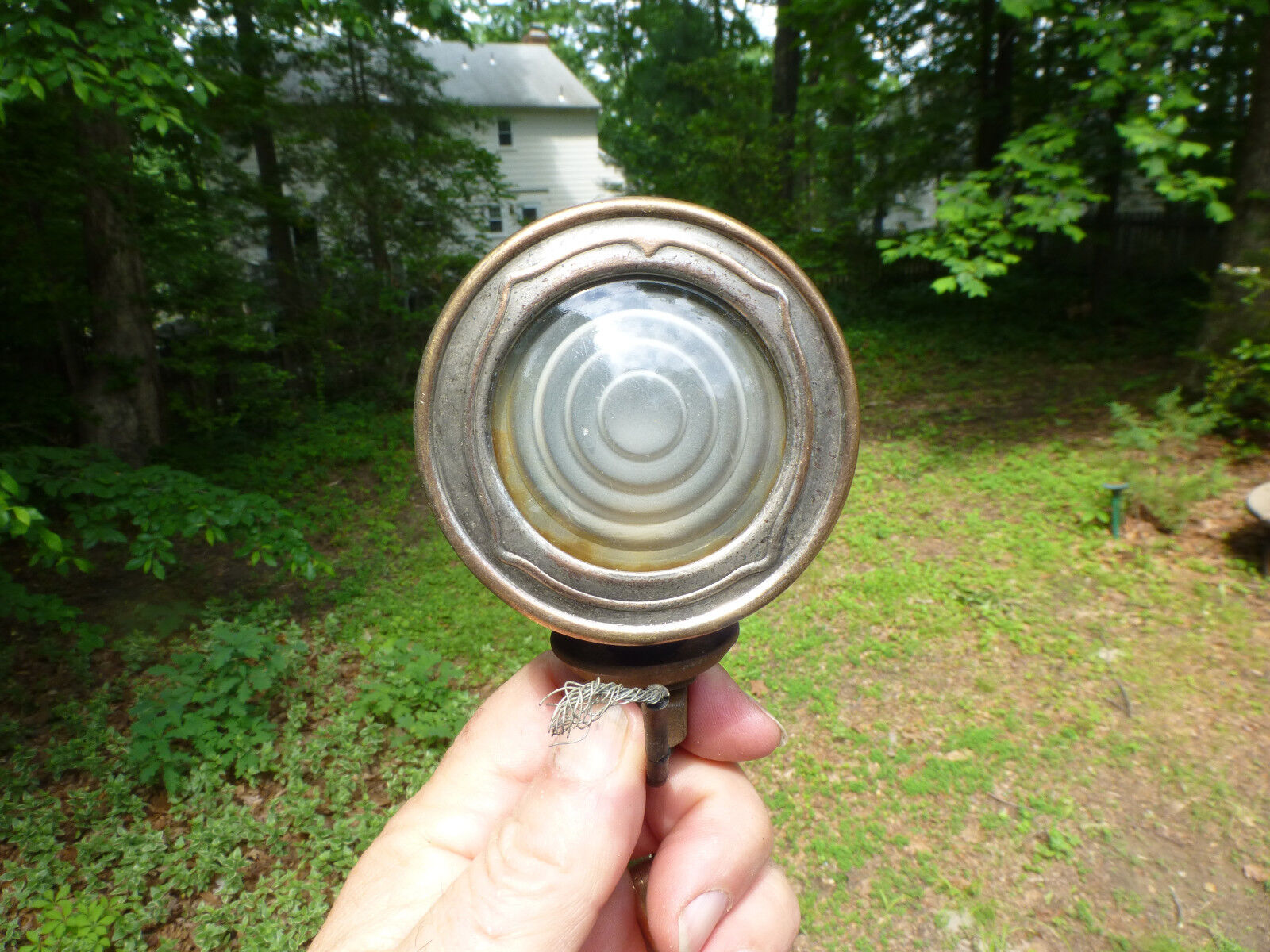1920's 1930's Buick Cowl Light Bullseye Glass or Cadillac Olds Packard Lincoln
