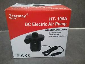12v DC ELECTRIC AIR PUMP FOR LARGE VOLUME INFLATABLES FREE POST Wattle Grove Liverpool Area Preview