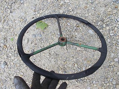 1946 John Deere A Tractor Original Jd Steering Wheel
