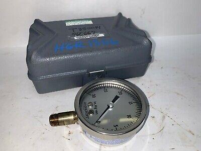 Ashcroft Pressure Gauge 250-2990-a01 0- 30 Psi 14 Thread Port