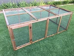 Rabbit hutch , guinea pig, chicken coop extension run Brighton Holdfast Bay Preview