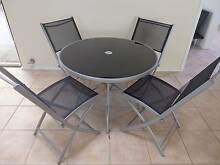 4 Seater Round Indoor/Outdoor Dining Table with Chairs Kallaroo Joondalup Area Preview