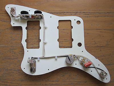 REPRO ~ UPGRADE Fender Jazzmaster Wiring Harness Orange Drop Capacitor Version