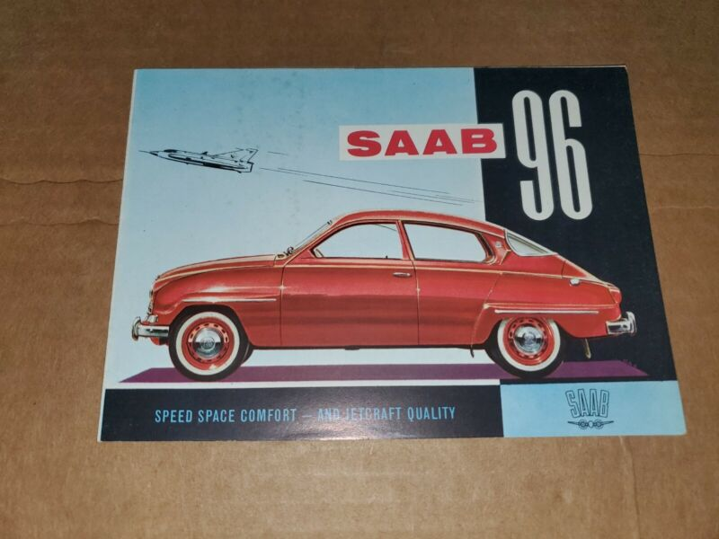 1961 Saab 960 brochure