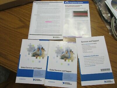 New National Instruments 779461k-02 779461k-01 779461e-01 Daqmx Software Extras