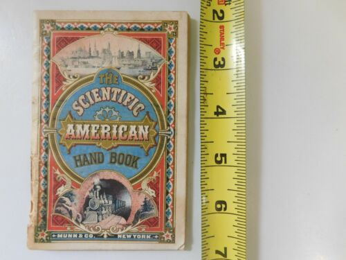 1877 SCIENTIFIC AMERICAN HAND BOOK