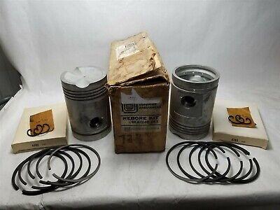 Genuine Mw John Deere A Ao Ar 60 .045 Aluminum Piston Kit Rka1240