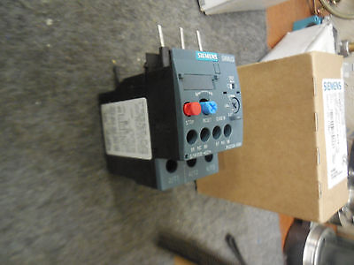 Siemens Overload Relay 3ru2126-1db0