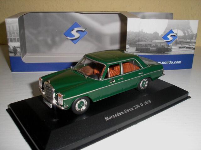 Mercedes /8 Strichacht 200 D grün 1968  in 1.43 von Solido