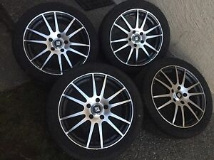 "17"" core racing wheels 5x114.3"