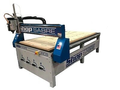 American Made Cnc Router - Shopsabre Cnc Rc-8 Cnc Router System