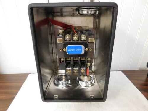 Joslyn Clark NEMA Motor Starters Amperage: 18 NEMA Size: 0 T13 WA30-46