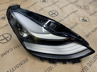 Tesla Model 3 O/S Drivers Headlight 2017 - ON Genuine 1077380 00 B