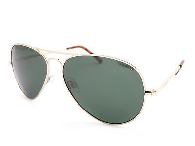 Polaroid Sonnenbrille Hellgold / Dunkelgrün Polarisierte Gläser PLD1017 3YG