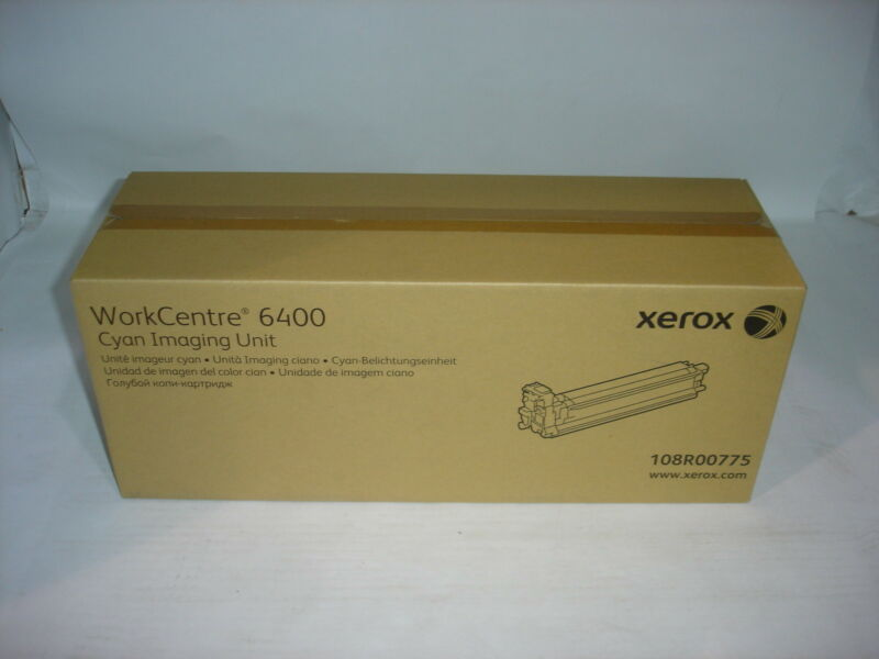 Xerox WorkCentre 6400 Cyan Imaging Unit 108R00775