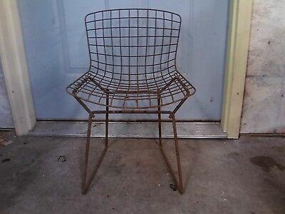 Harry Bertoia  Vintage Knoll  Wire Side Chair Mid Century Modern  ()