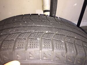 2010 Ford Escape winter tires.