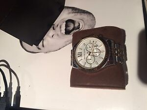 Michael Kors - mens two tone watch