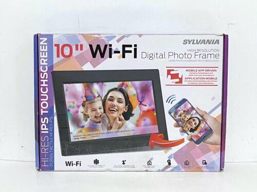 "Sylvania SDPF1095 10"" Smart Digital Picture Frame WiFi Touchscreen"