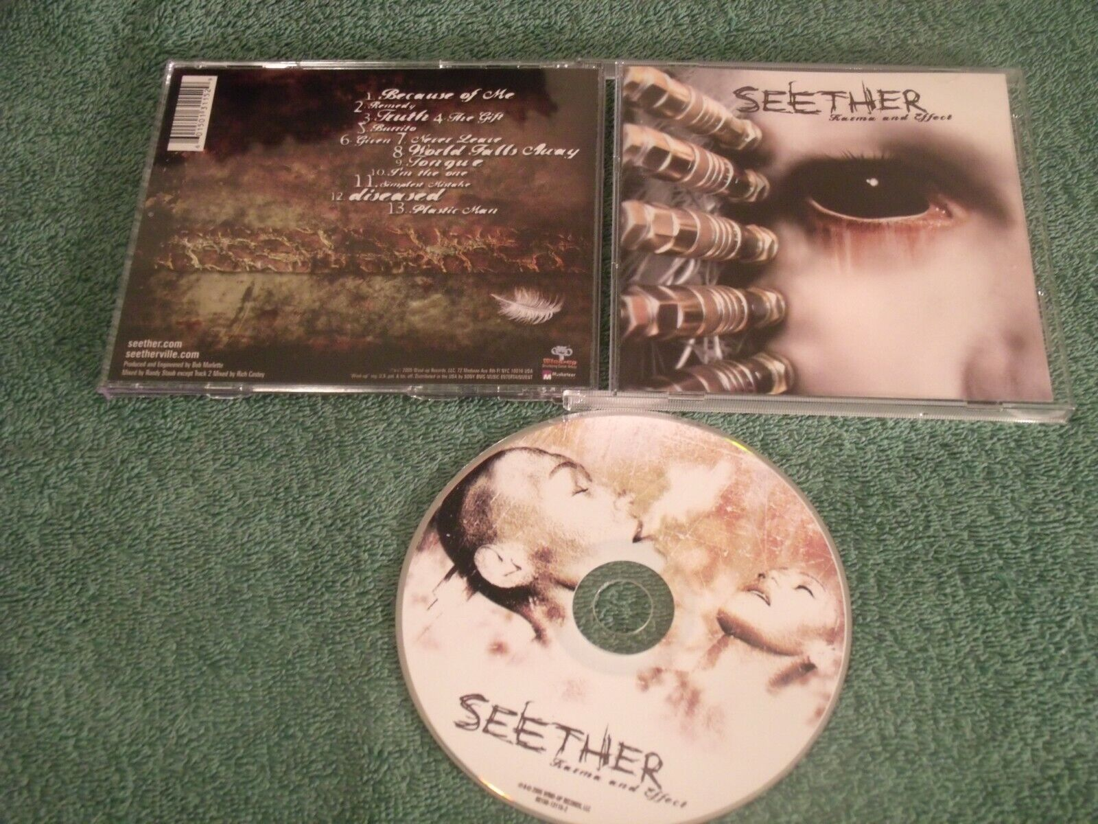 SEETHER- KARMA AND EFFECT - $2.00