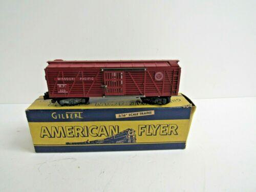 Gilbert American Flyer # 929 Cattle Car w/Original Box