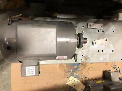Baldor 5hp Air Compressor Electric Motor 50hz 1-phase 208-230v 78 Shaft
