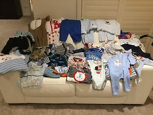 Infant Boys Size 00 Clothing - 90 items of clothing ! Rowville Knox Area Preview