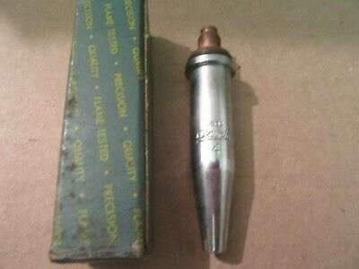 National Oxweld 1502 No.4 Cutting Torch Tip
