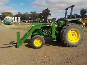 John Deere 2130 Front End Loader Carisbrook Central Goldfields Preview