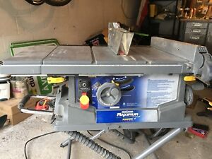 Mastercraft saw stand kijiji in ontario buy sell save with mastercraft 10 table saw with rolling stand keyboard keysfo Choice Image