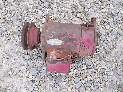 Farmall Ih M Mv Early Sm Tractor Good Working 6v Generator W Belt Pulley Regul