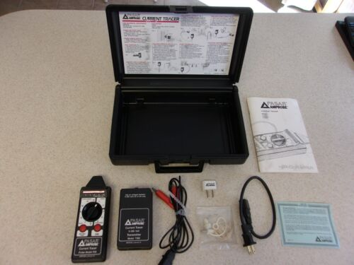 PASAR AMPROBE CURRENT TRACER Probe P26 & Transmitter T300 W/ Case & Accessories
