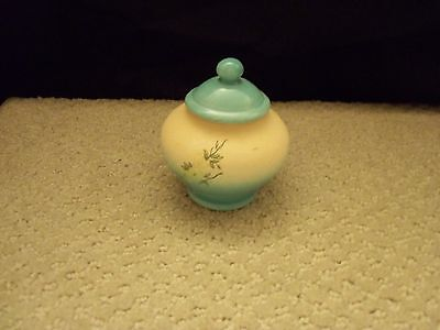 Asian Japanese Pottery Jar With Lid