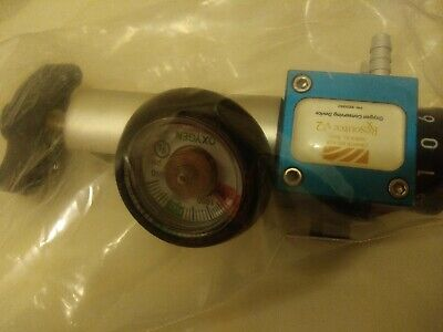 Inovo Generation Ii Pneumatic Dual Lumen Pulse Oxygen Regulator 6lpm Used