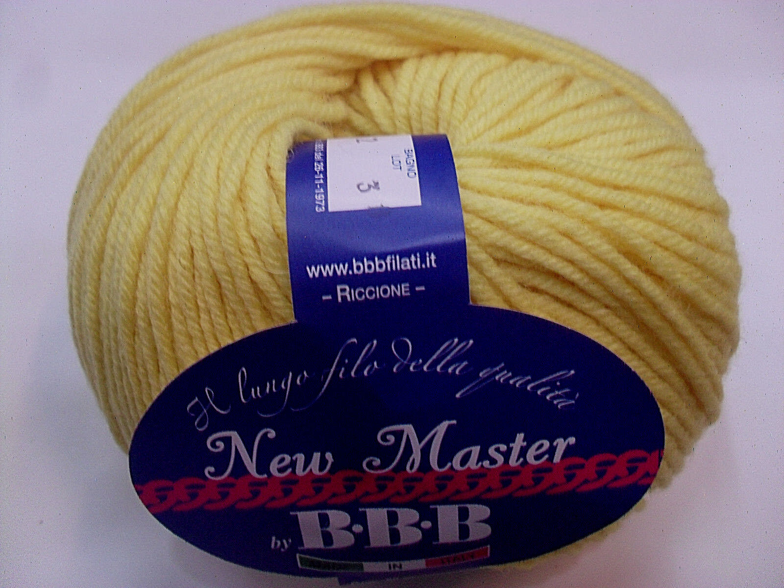 NEW MASTER GIALLO BANANA COL. 7762