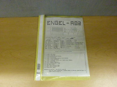 Engel Ec88cc90-a02 Injections Molding Software Description Manual 13793