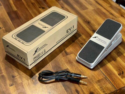 Fractal Audio EV-1 Expression/Volume Pedal With 3ft TRS Cable Original Box - $120.00