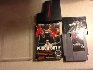 Mike Tysons Punch Out! NES CIB