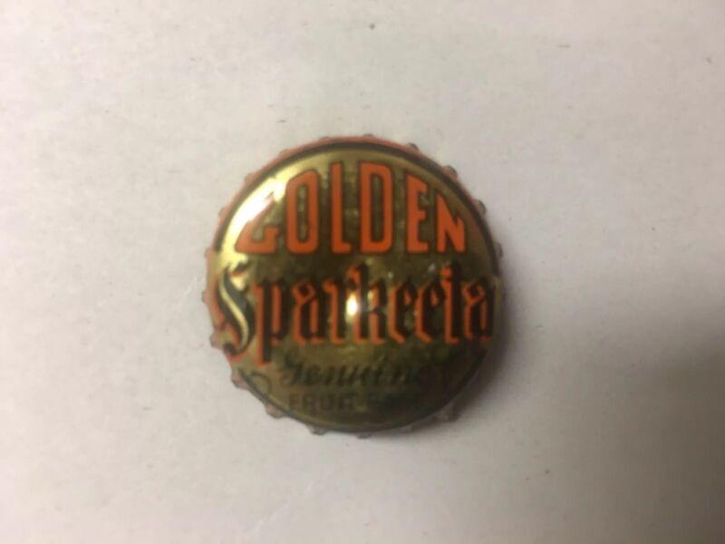RARE GOLDEN SPARKEETA Bottle Cap