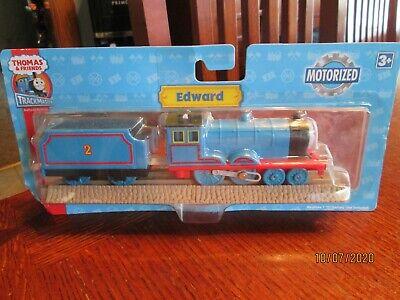 NEW 2007 Thomas & Friends Trackmaster Motorized Railway Train EDWARD & TENDER
