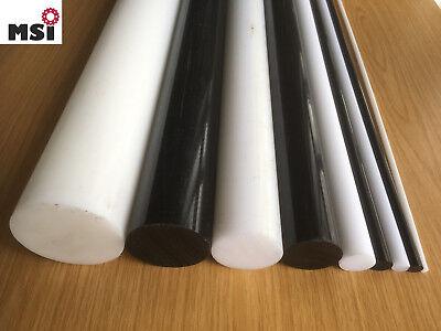 PA Polyamid Rundstab D 6-100mm L=1000mm PA6 Rundmaterial natur weiß schwarz rund