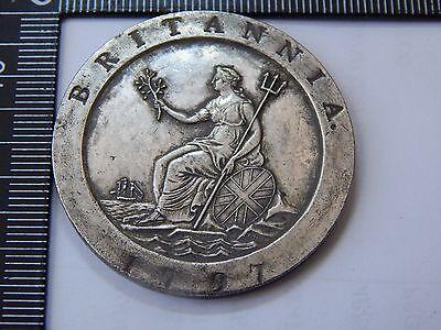 "1797 ""Cartwheel"" George III KGIII Two Penny, 2d pattern 200th anniversary proof"