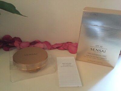 Sensai Körperpflege (Kanebo Sensai Silky Bronze Sun Protective Compact Spf30 Sc02 Natural 8.5g BNIB)