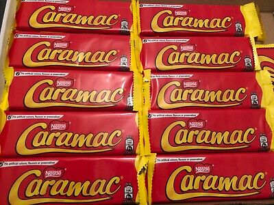 Nestle caramac 30gm choose your quantity  6,12 and 28 bars long date multi listi